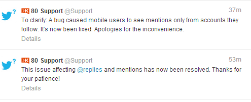 Fuss about Mentions on Twitter? #wewantoldtwitterback