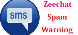 Spam Warning – Don't Click Links from #Zeechat App