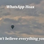 Another WhatsApp hoax DAVID D SURETECH