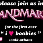Breast Cancer Awareness Landmark Event  #Iloveboobies