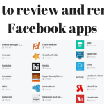 How to review and delete Facebook apps