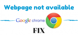 How to fix – This webpage is not available