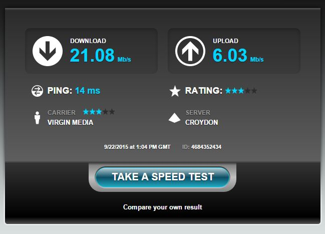 Virgin media fastest broadband, why are people reporting 3mbs download speeds