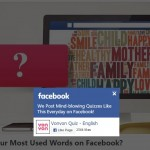 "How to unauthorise or remove the ""Most Used Words"" quiz app from Facebook"