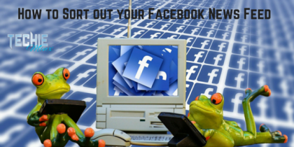 How to Sort out your Facebook News Feed