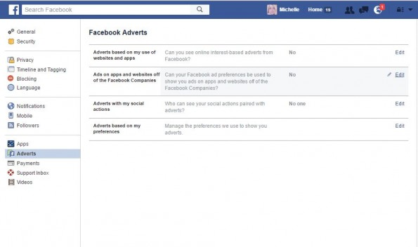 How to opt out of Facebooks ad tracking