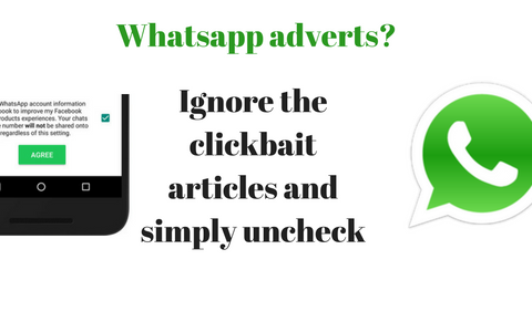 whatsapp ads how to opt out